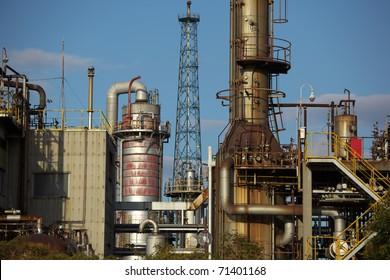 Oil refinery in JAPAN
