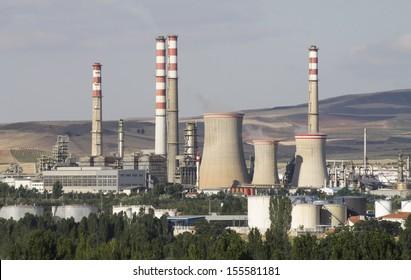 Oil refinery, Kirikkale, Turkey