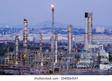 Oil refinery and natural gas and petroleum.
