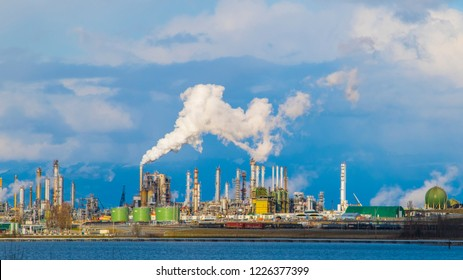 Oil Refinery on Puget Sound