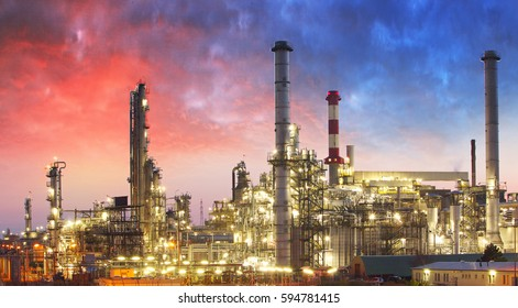 Oil Refinery, petrochemical plant