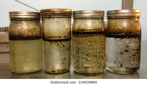 Oil Samples From American Shale Wells