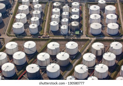 Oil storage drums