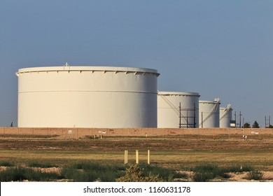 oil storage tanks in Midland TX