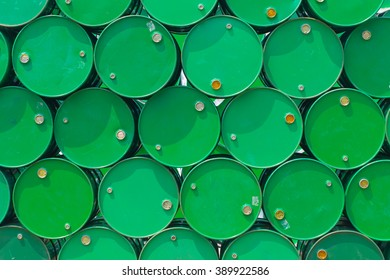 oil tank green color.