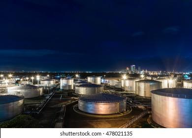 Oil tank industrial