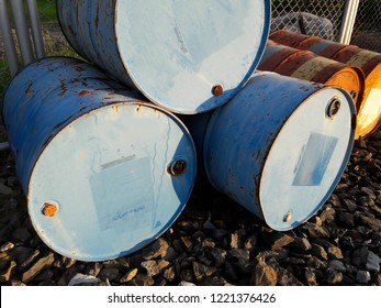 Oil tank made of steel or 200 liter steel tank