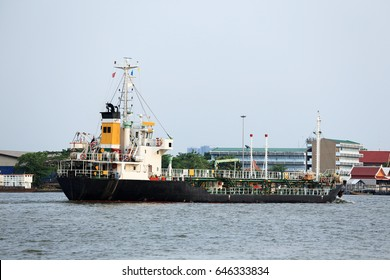 Oil tanker sailed from port