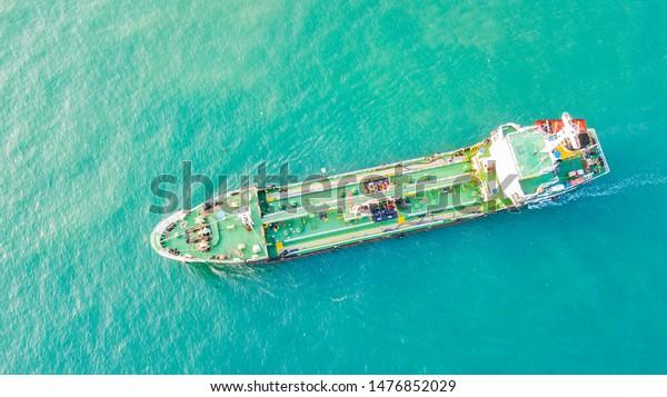 Oil Tanker Ship Sea Singapore Stock Photo (Edit Now) 1476852029
