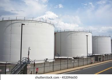 oil tanks in airport