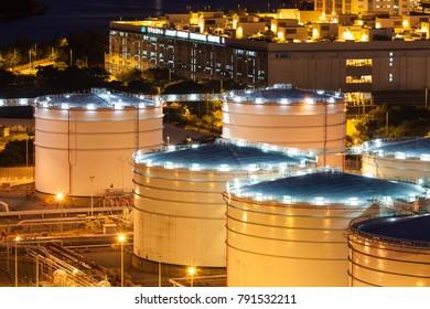 Oil tanks industry