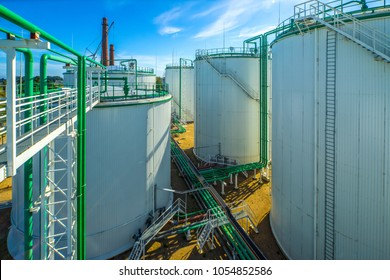 Oil terminal, storage and infrastructure