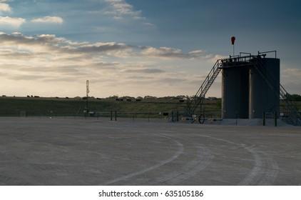 Oilfield Production Tank
