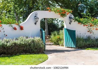 Ojai, California, USA 7/29/15  On the grounds of the Ojai Spa and Resort
