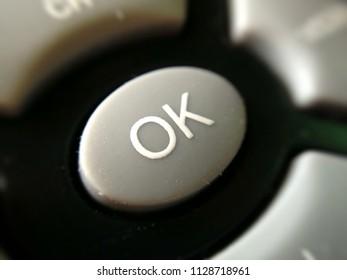 OK button remote device