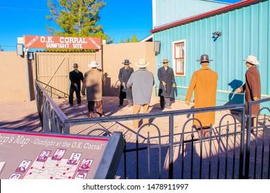 O.K. Corral Gunfight Site - Tombstone, Arizona - Nov 2, 2018