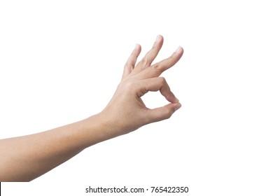 OK , Hand sign
