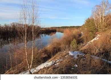 the Oka river russia march