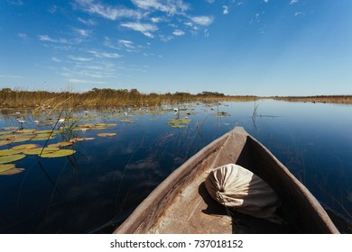 Okavango river, Okanvango delta,  Botswana