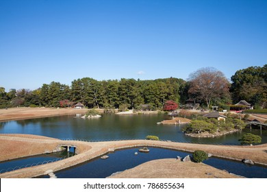 Okayama Korakuen Garden, One of Japanâ??s three most celebrated gardens.