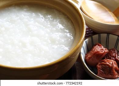 Okayu, Congee, Japanese rice porridge