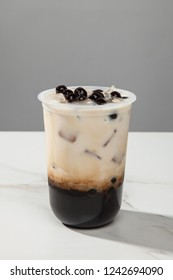 Okinawa brown sugar milk tea