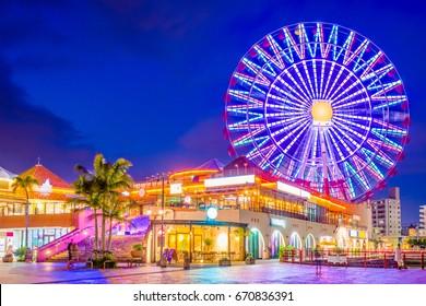Okinawa, Japan at American Village.