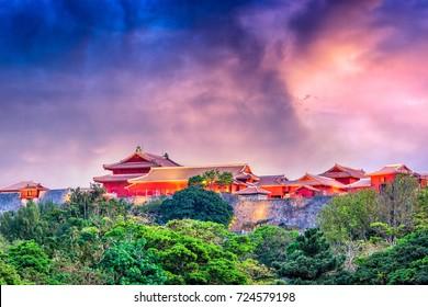 Okinawa, Japan at Shuri Castle.