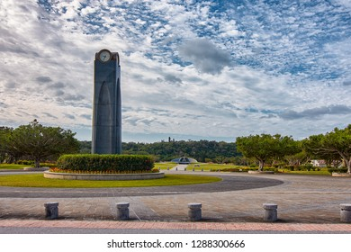 Okinawa Prefecture /Japan - February 28, 2018: The Okinawa Prefectural Peace Memorial Museum, dedicated to the victims of the Battle of Okinawa in the Pacific War