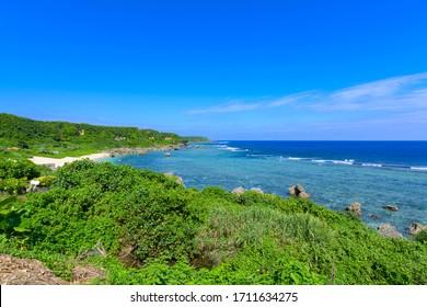 沖縄県宮古島ボラガビーチ