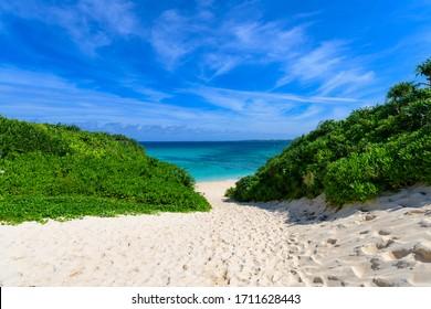 沖縄県宮古島砂山ビーチ