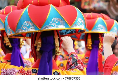 Okinawa traditional Kimono hat