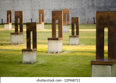 Oklahoma City Memorial Chairs