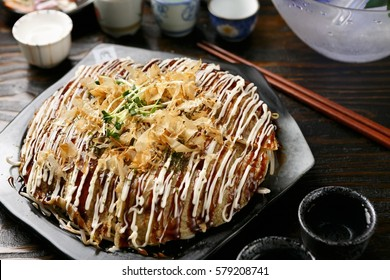 okonomiyaki is japanese style pancake