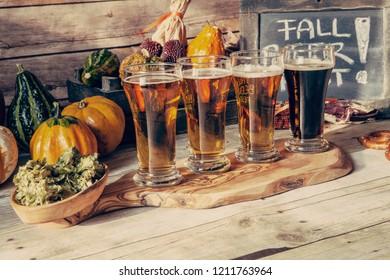 Oktoberfest Beer Flight