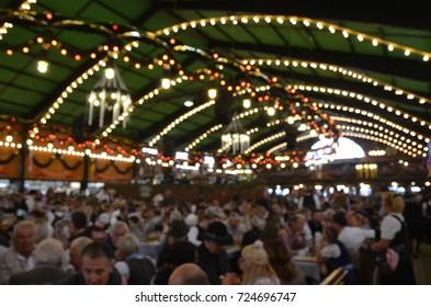 Oktoberfest blurred background