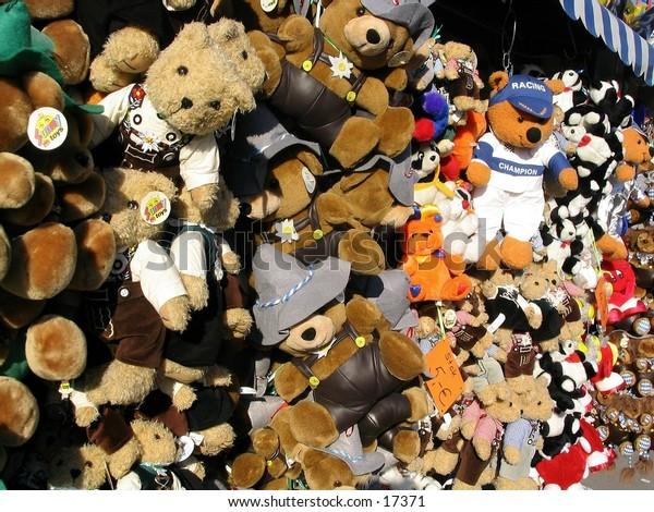 Oktoberfest teddy bears