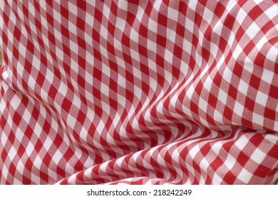 Oktoberfest textile pattern, red white
