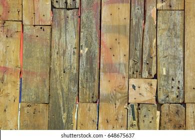 Ol wood board background