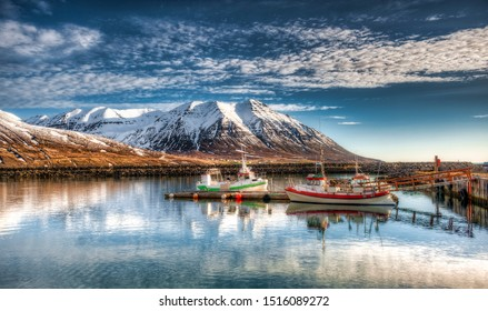 Olafsfjordur is a city in northwestern Iceland, located at the mouth of the Eyjafjorour fjord. Its population is about 824 inhabitants