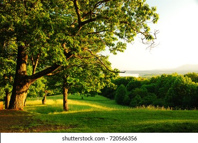 The Olana State Historic Park offers a bucolic view of the Hudson River from its highest point