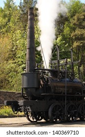 Old 1800's Steam Train