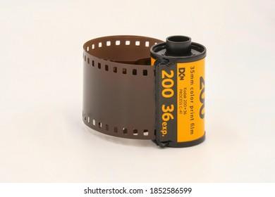 Old 35mm Color Print Film Kodak