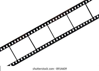 old 35mm film strip