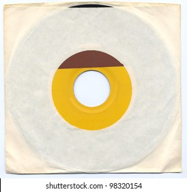 Old 45 Record in Sleeve