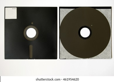 The old 8-inch floppy disk, insides