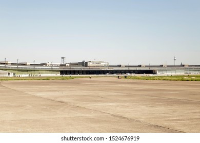 Old abandoned airport  Berlin Tempelhof build by the nazi's during the second world war