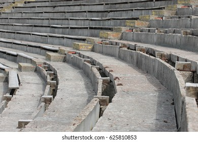 Old abandoned amphitheater