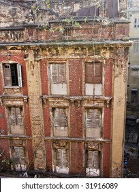 Old Abandoned Building in India.