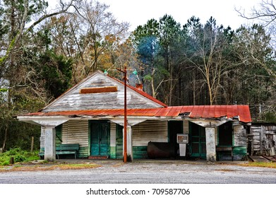 An Old Abandoned Country Store